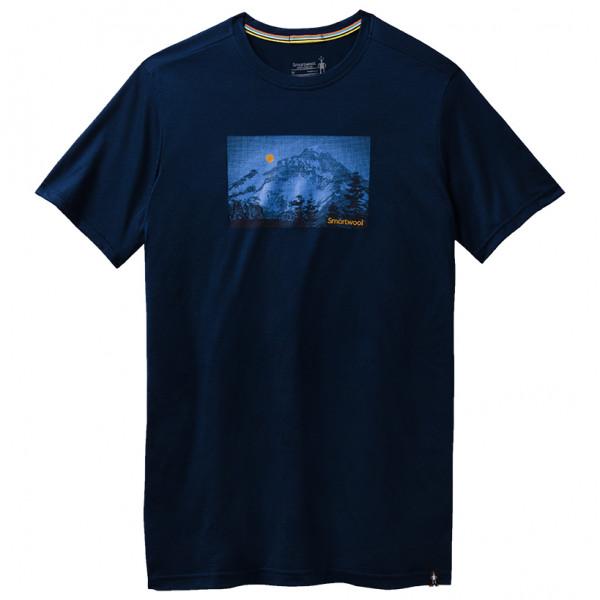 Smartwool - Merino Sport 150 Mount Hood Moon Graphic Tee - Merinovillapaita