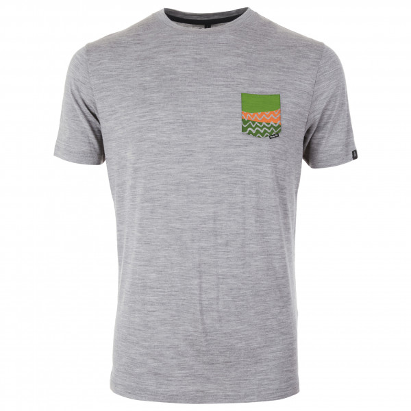 Pally'Hi - T-Shirt Organic Pocket - Merinovillapaita