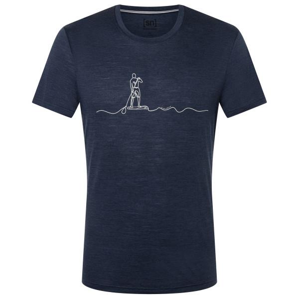 Sup Line Tee - Merino shirt