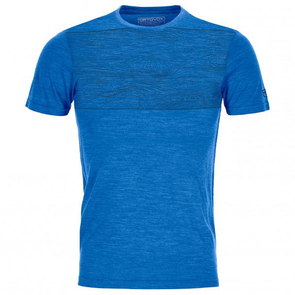 Ortovox - 120 Cool Tec Wood - T-shirt en laine mérinos