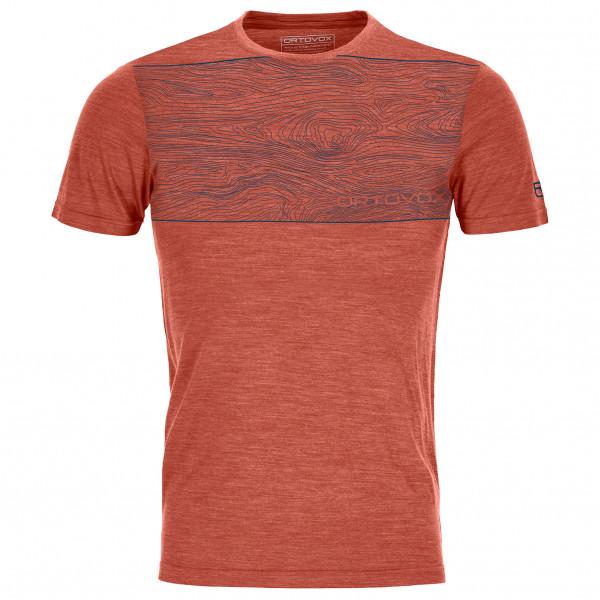 Ortovox - 120 Cool Tec Wood - Camiseta de merino