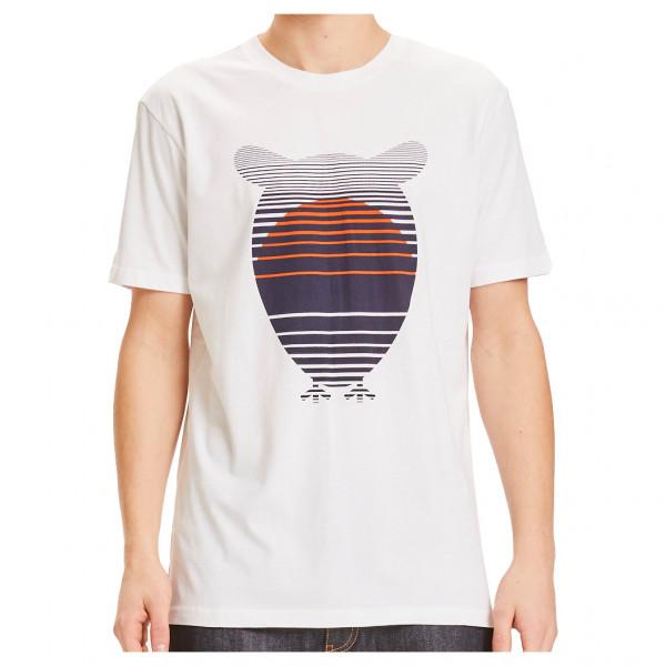 Alder Big Owl Sunset Printed Tee Vegan - T-shirt
