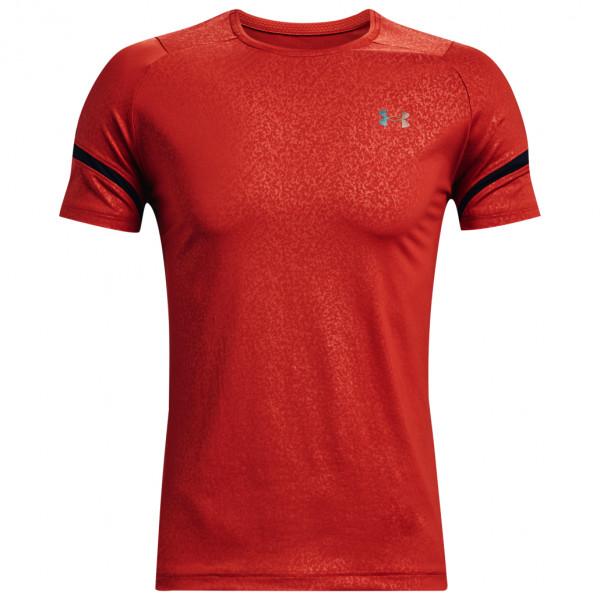 UA Rush Heatgear 2.0 Emboss Short Sleeve - Sport shirt