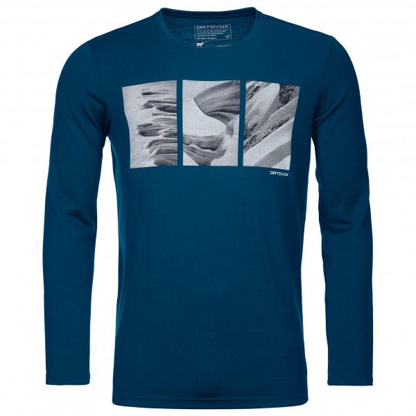 185 Merino Shape Pic L/S - Merino shirt