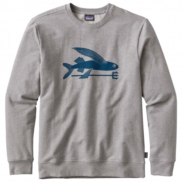 Patagonia - Flying Fish MW Crew Sweatshirt - Trui