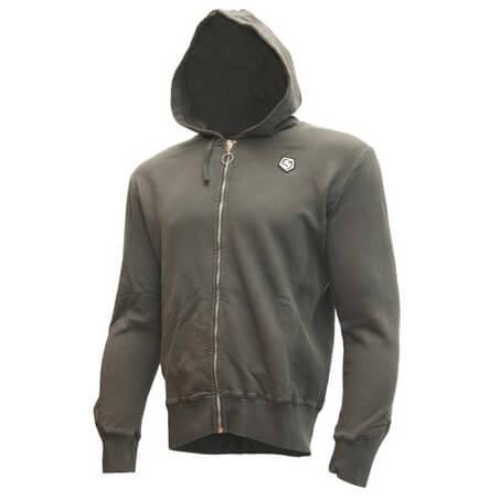 E9 - Z9 Zipped Hooded Sweater