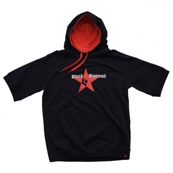 Black Diamond - Red Star Tee Hoodie - Kurzarm-Pullover