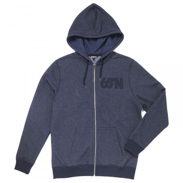 66 North - Logn Zipped Sweat - Zip-Hoody