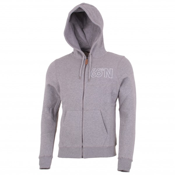 Logn Zipped Sweat - Zip-Hoody