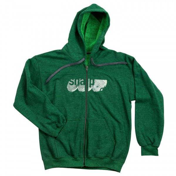 Snap - Fingerprint Logo Zip Hoody