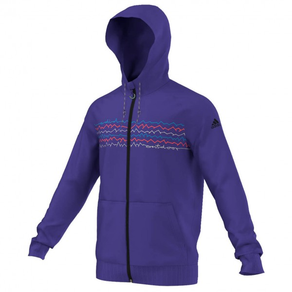 Adidas - ED Graphic Hoody - Pull-over à capuche