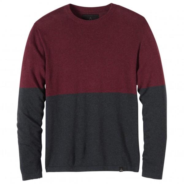 Prana - Color Block Sweater Crew - Pull-over