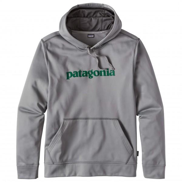 Patagonia - Text Logo PolyCycle Hoody - Munkjacka