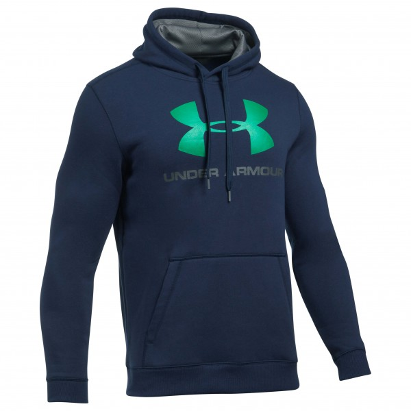 Under Armour - Rival Fitted Graphic Hoodie - Munkjacka