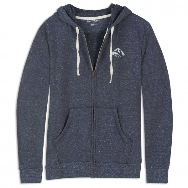 United By Blue - Made For The Mountains Zip Up Hoodie - Munkjacka