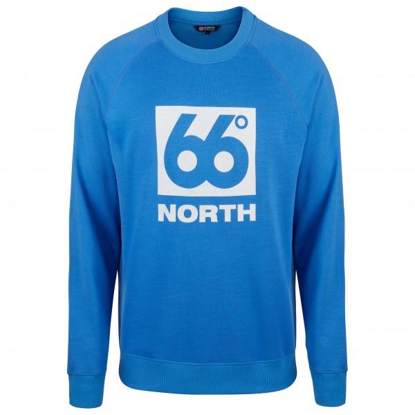 66 North - Gola Crew Neck Box Logo - Sweatere