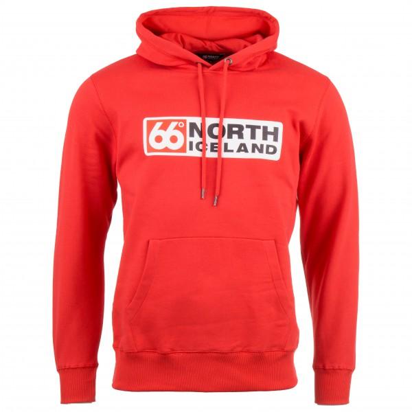 66 North - Logn Hoodie Long Logo - Munkjacka