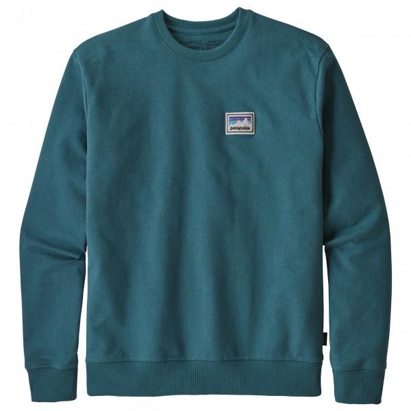 Patagonia - Shop Sticker Patch Uprisal Crew Sweatshirt - Gensere