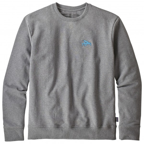 Patagonia - Small Flying Fish Uprisal Crew Sweatshirt - Pulloverit