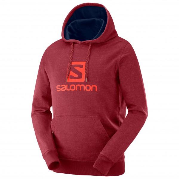 Salomon - Logo Hoodie - Munkjacka