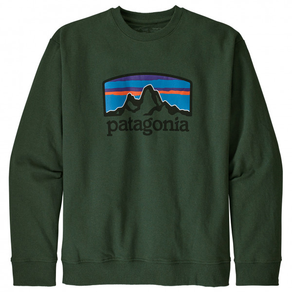 Patagonia - Fitz Roy Horizons Uprisal Crew Sweatshirt - Jumper