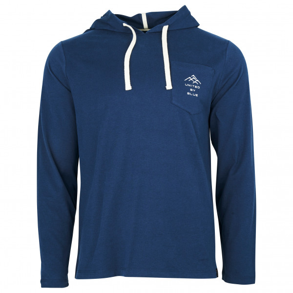 United By Blue - MTNS Are Calling L/S Graphic Hooded Pocket - Hoodie