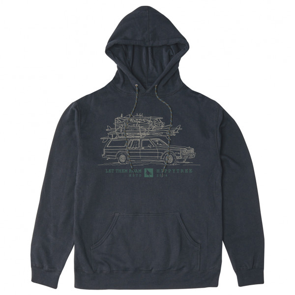 Hippy Tree - Sweat Hoody Wagon - Munkjacka