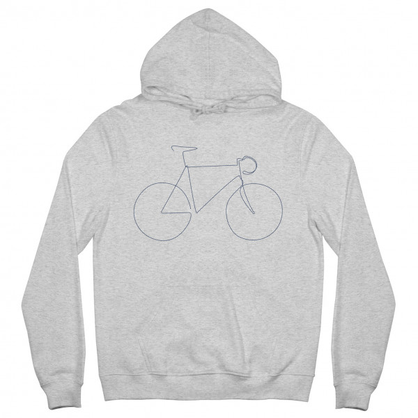 DEDICATED - Hoodie Falun Bicycle - Sudadera