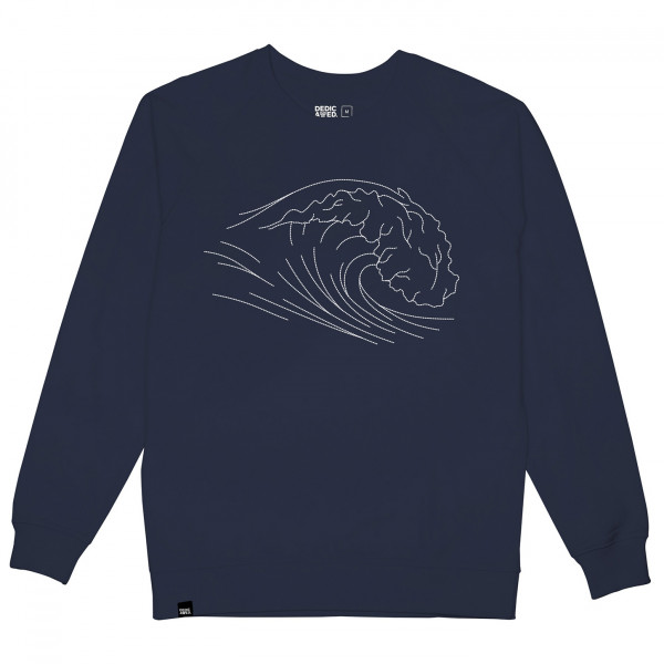 DEDICATED - Sweatshirt Malmoe Stitched Wave - Överdragströjor