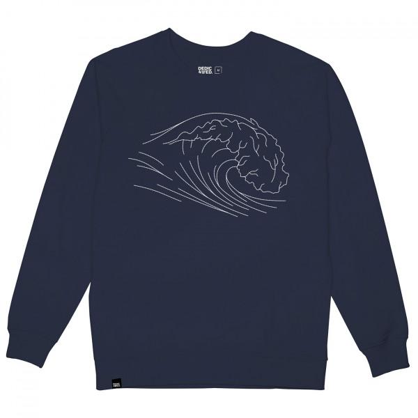 DEDICATED - Sweatshirt Malmoe Stitched Wave - Pulloverit