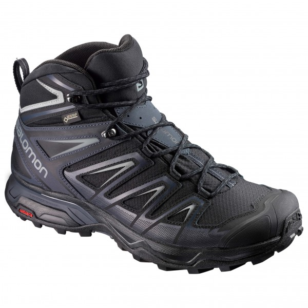 best sneakers d419b e1b09 Salomon - X Ultra 3 Mid GTX - Wanderschuhe - Black / India Ink / Monument |  7 (UK)