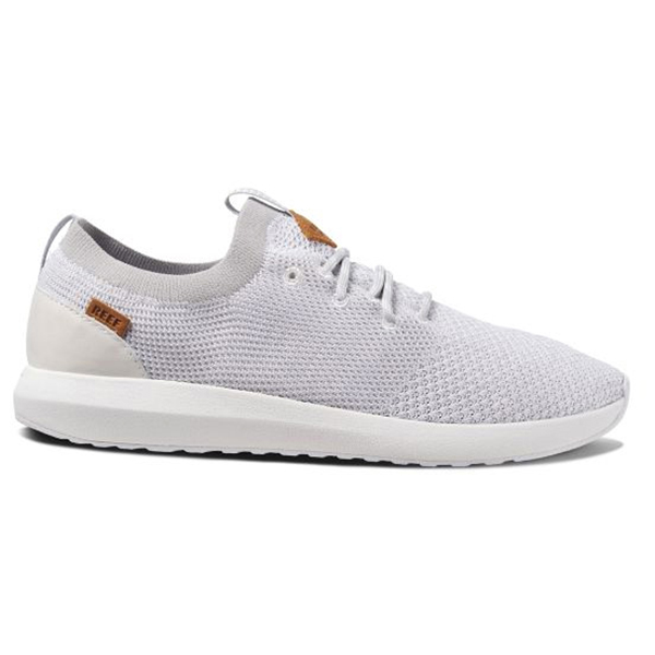 Reef Cruiser Knit Sneakers White Silver | 12 (US)