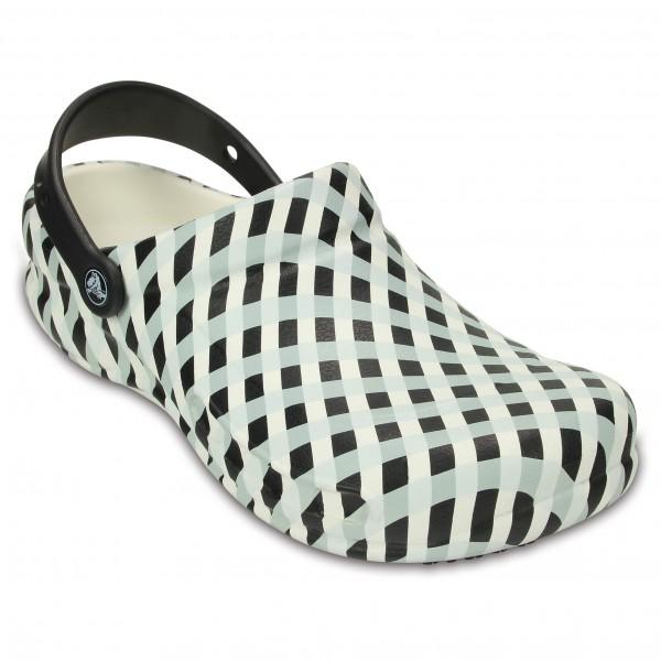 Crocs - Bistro Gingham Clog - Sandaler