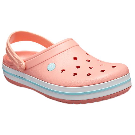 buy popular f4941 02772 Crocs - Crocband - Sandalen - Melon / Ice Blue   M4 / W6 (US)