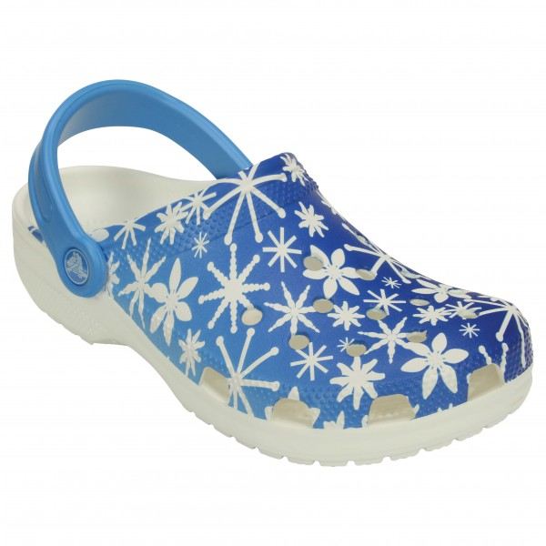 Crocs - Classic Snowflake Clog
