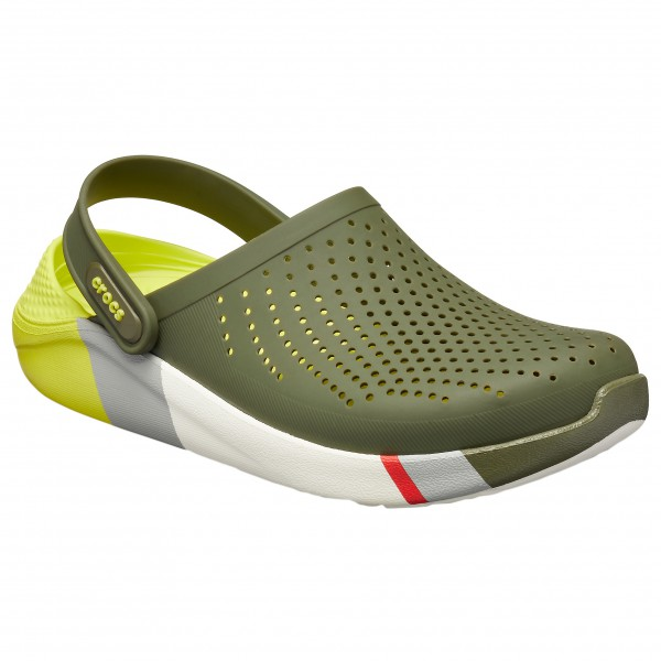 Crocs - Literide Colorblock Clog - Tursandaler