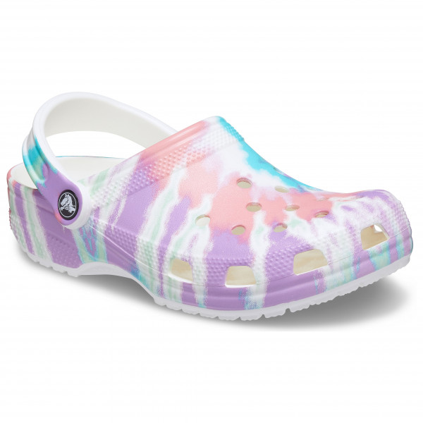 Classic Tie Dye Graphic Clog - Sandals
