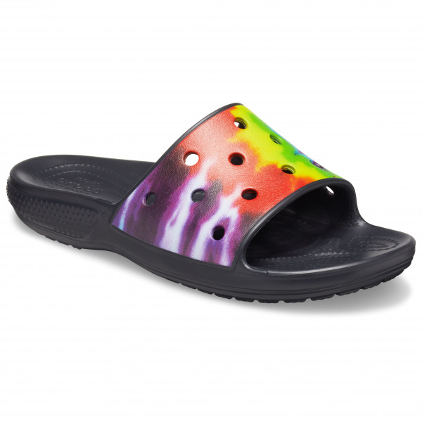 Crocs - Classic Crocs Tie Dye Graphic Slide - Sandalen