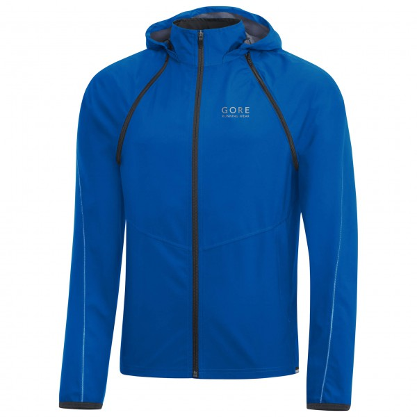 GORE Running Wear - Essential Gore Windstopper Zip-Off Jacke - Running jacket