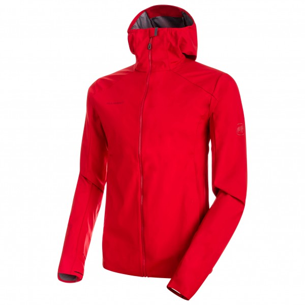 Mammut - Ultimate V Light SO Hooded Jacket - Running jacket
