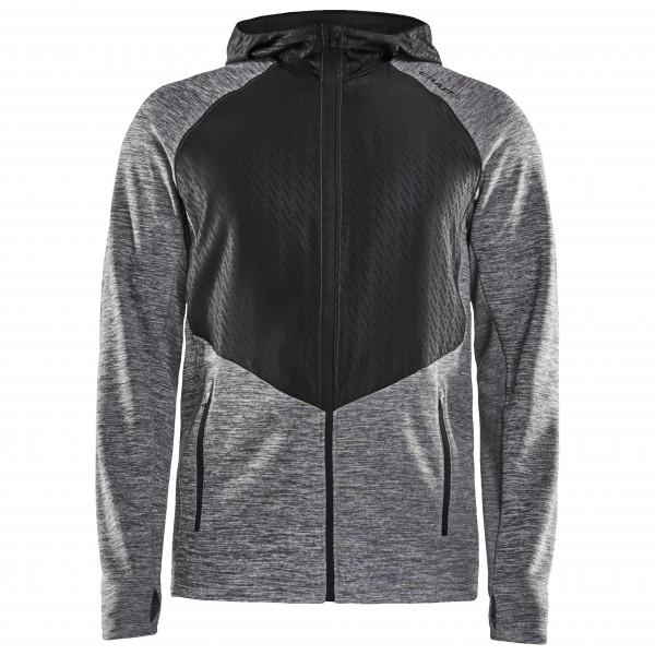 Craft - Charge Full Zip Sweat Hood Jacket - Löparjacka