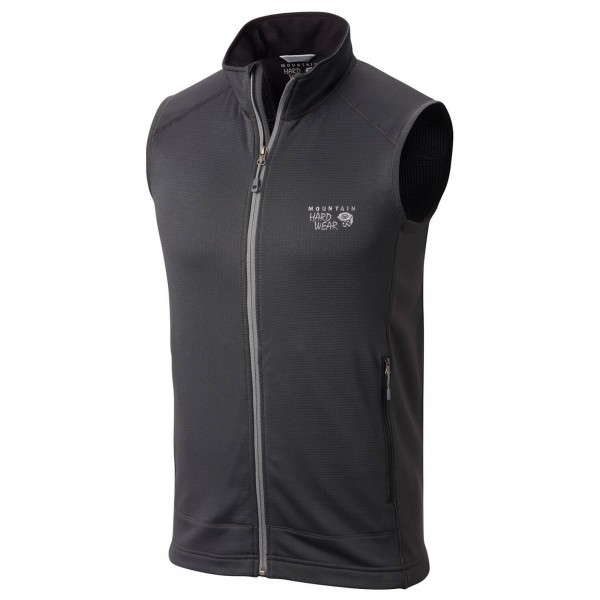 Mountain Hardwear - Desna Grid Vest - Fleece vest