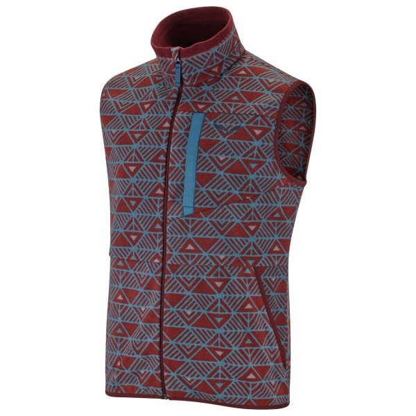 Salewa - Puez Printed PL Vest - Fleece vest