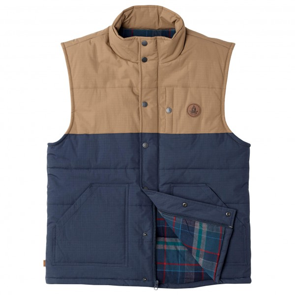 Hippy Tree - Jacket Burro Vest - Veste sans manches synthéti