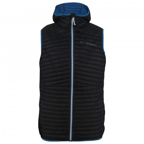 2117 of Sweden - Bierke Light Down Vest with Hood - Donzen bodywarmer