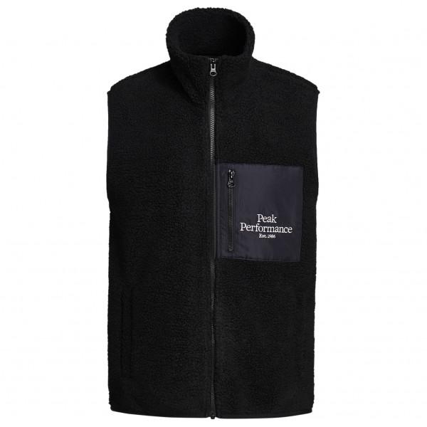 Original Pile Zip Vest - Fleece vest