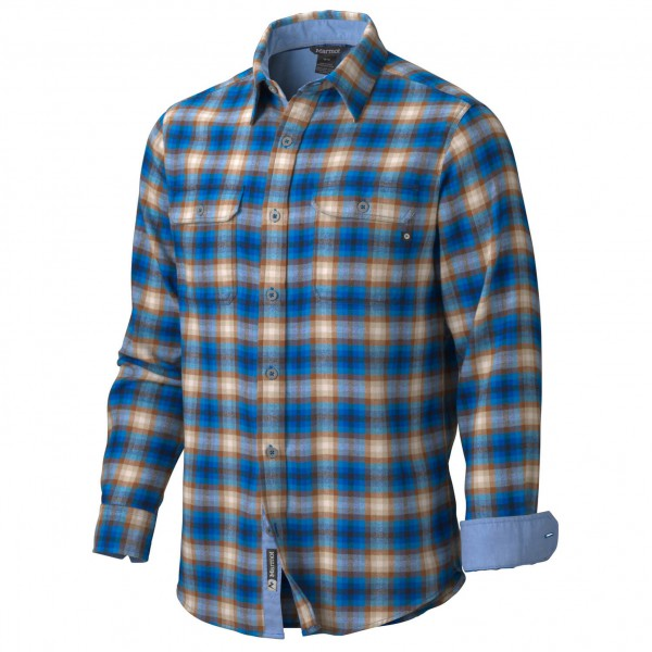 Marmot - Salinas Flannel LS - Langarmhemd