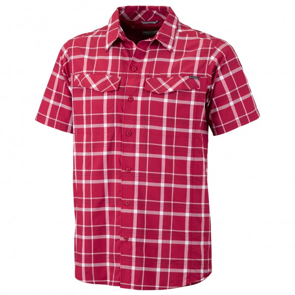 Columbia - Silver Ridge Multi Plaid Short Sleeve S - Chemise