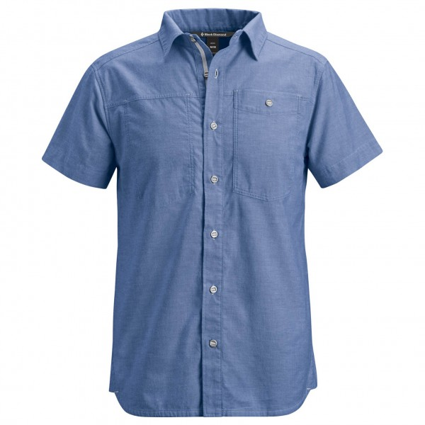 Black Diamond - SS Chambray Modernist Shirt - Overhemd