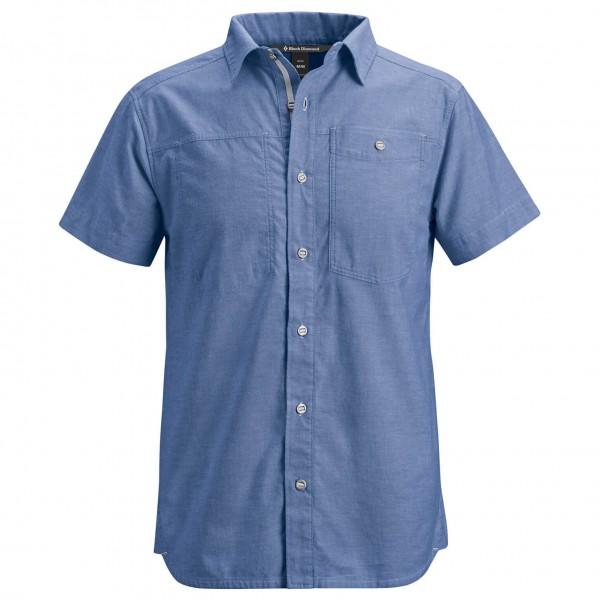 Black Diamond - SS Chambray Modernist Shirt - Paita